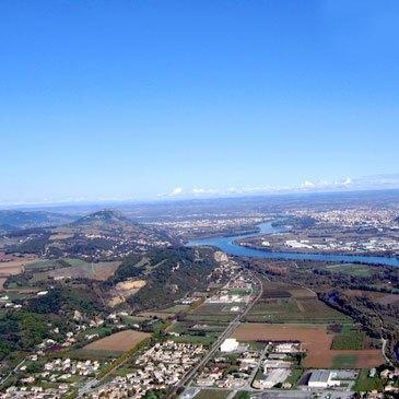 Pilotage Hélicoptère en région Rhône-Alpes