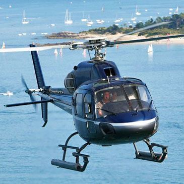 Baptême en Hélicoptère - Liaison Île d'Yeu