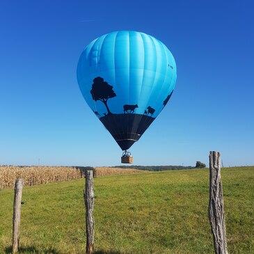 Vol en montgolfière (Haute Marne)