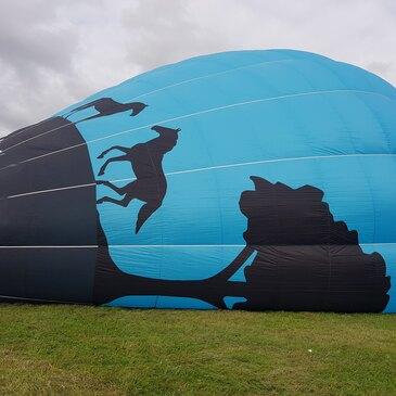 Baptême de l'air montgolfière, département Haute marne