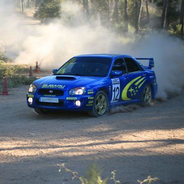 Baptême Rallye Subaru Circuit Aix-en-Provence