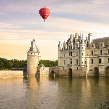 Weekend Vol en Montgolfière - Château de Chenonceau