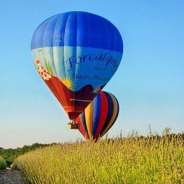 Forcalquier, Alpes de Haute Provence (04) - Week end dans les Airs