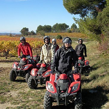 Week end Randonnée quad, département Gard