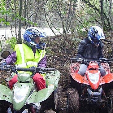 Week end Randonnée quad en région Bretagne