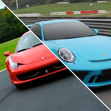 Week-end stage pilotage 2 Autos Ferrari, Porsche...
