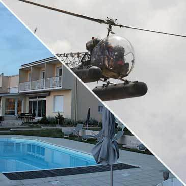 Week-end baptême hélicoptère Royan