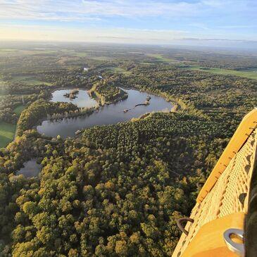 Baptême de l'air montgolfière en région Poitou-Charentes