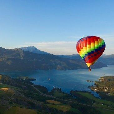 Baptême de l'air montgolfière, département Hautes Alpes