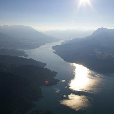 Savines-le-Lac, Hautes Alpes (05) - Baptême de l'air montgolfière
