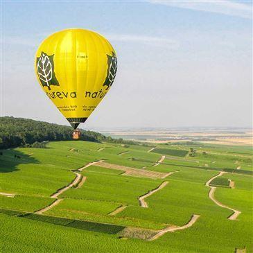 Vol en Montgolfière - Survol de Reims et de la Champagne