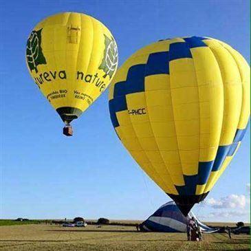 Prunay, à 15 min. de Reims, Marne (51) - Baptême de l'air montgolfière