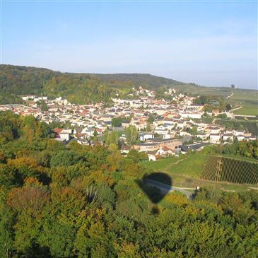 Baptême de l'air montgolfière proche Prunay, à 15 min. de Reims