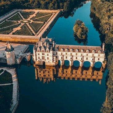 Baptême en Hélicoptère à Blois - Survol des Châteaux