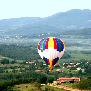 Vol en Montgolfière à Annonay en Ardèche