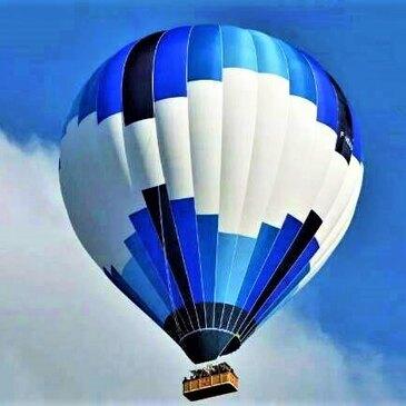 Baptême de l'air montgolfière, département Ardèche
