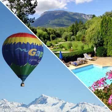 Week end vol en montgolfière hôtel Azur** Gap