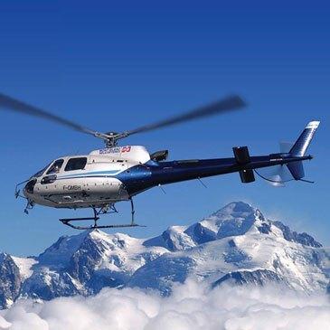 Week end baptême en hélicoptère Mont Blanc