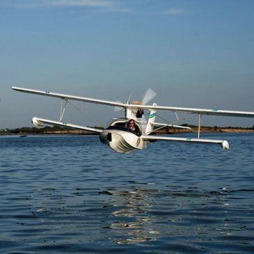 Baptême en ULM Hydravion Golfe du Morbihan