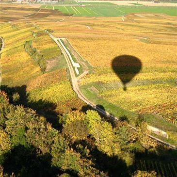 Weekend Vol en Montgolfière à Reims Survol de la Champagne en région Champagne-Ardenne