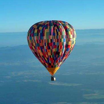 Baptême de l'air montgolfière, département Lot