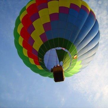 Baptême de l'air montgolfière, département Lot et garonne