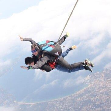 Saut parachute en tandem (Saint Tropez)