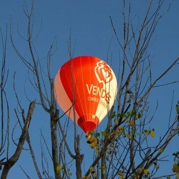 Baptême de l'air montgolfière, département Vendée
