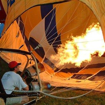 Baptême de l'air montgolfière proche Saint-Malô-du-Bois