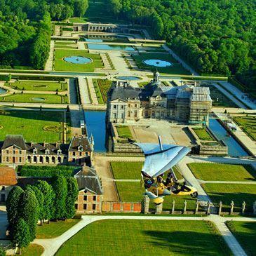 Baptême de l'air en ULM (Fontainebleau)