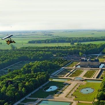 Baptême de l'air en ULM (Fontainebleau)  en région Ile-de-France