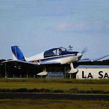 Vol d'initiation au Pilotage d'Avion au Mans