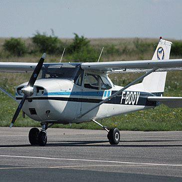Pilotage d'Avion près de Nancy