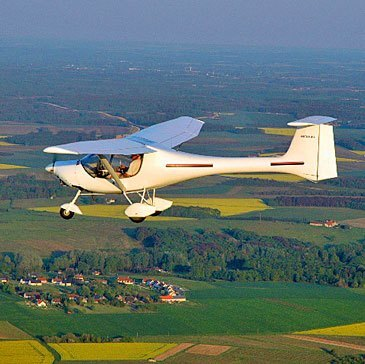 Pilotage d'ULM Multiaxe près d'Amboise