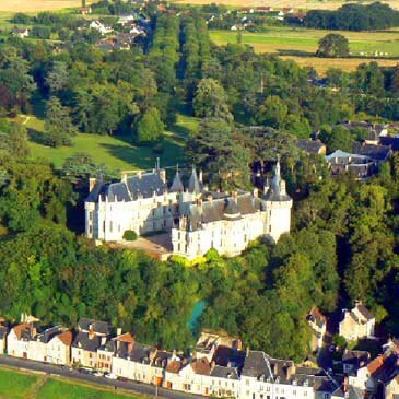 Pilotage ULM multi axe (Châteaux de la Loire) en région Centre