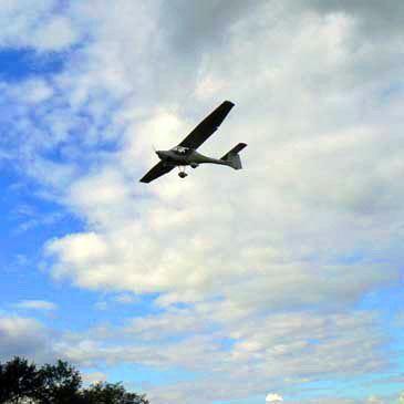 Pilotage d'ULM Multiaxe près de Blois