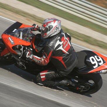 Stage de pilotage moto, département Sarthe