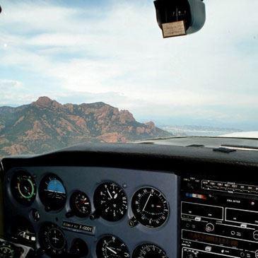 Stage pilotage en avion Cessna 150 et Simulateur de Vol Cannes