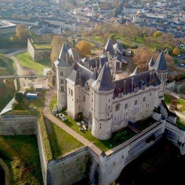 Vol en Montgolfière près d'Angers - Survol des Châteaux