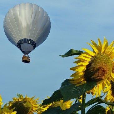 Baptême de l'air montgolfière, département Tarn