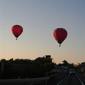 Baptême de l'air montgolfière proche Albi