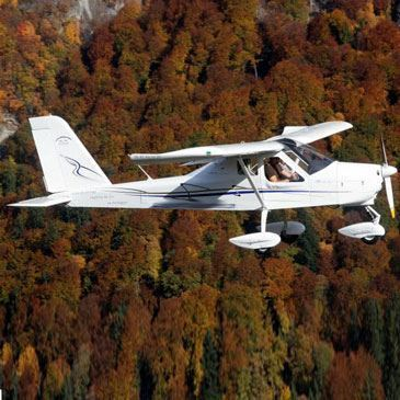 Pilotage d'ULM Multiaxe au Mont Blanc