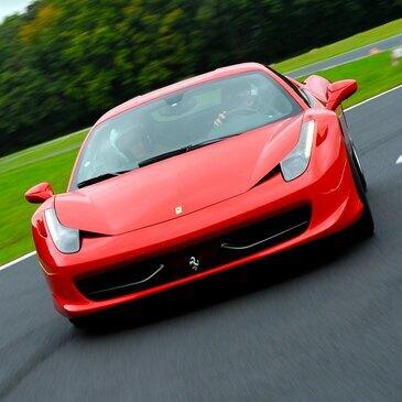 Stage en Ferrari 458 Italia - Circuit de Mettet