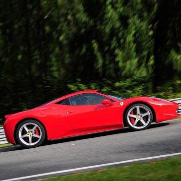 Stage Pilotage Ferrari, département Namur