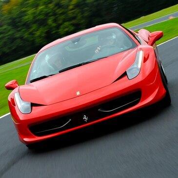 Stage en Ferrari 458 Italia - Circuit des Écuyers