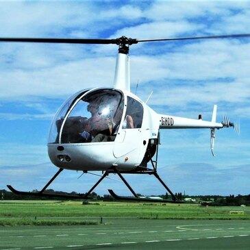 Vol d'Initiation au Pilotage Hélicoptère près de Paris