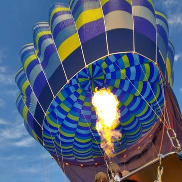 Baptême de l'air montgolfière en région Provence-Alpes-Côte d'Azur et Corse
