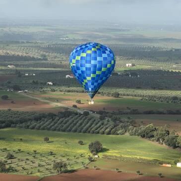 Baptême de l'air montgolfière proche Roussillon