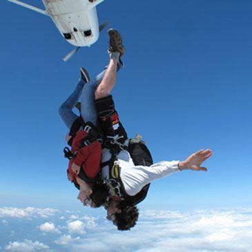Saut parachute en tandem Sarlat