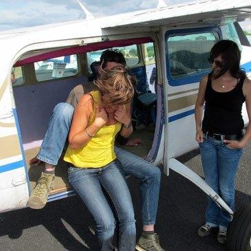 Aérodrome de Sarlat - Domme, Dordogne (24) - Saut en parachute